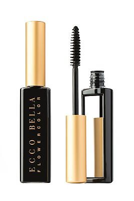 Ecco Bella FlowerColor Natural Black Mascara - .38 oz Gluten-Free (Ecco Bella Black Mascara)