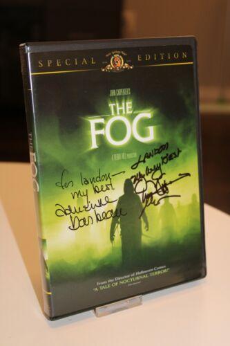 The Fog DVD autographed by Adrienne Barbeau & Tom Atkins