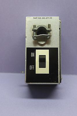 Rocker Switch In Electrical Box - Single-pole 8a125v 4a250v 13 Hp125250v