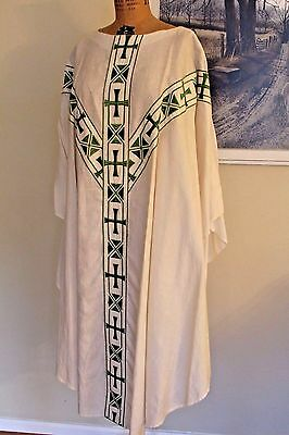 VINTAGE CLERGY PRIEST MINISTER PASTOR BROCADE CHASUBLE VESTMENTS