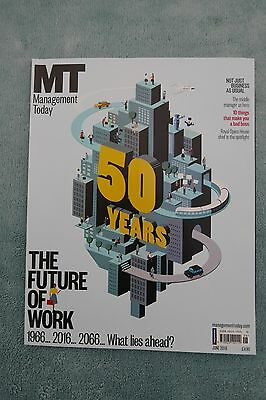 Management Today Magazine: June 2016, The Future Of Work