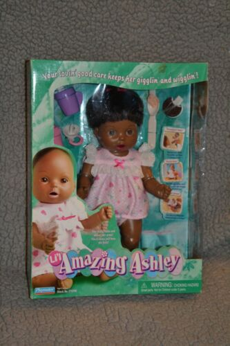 AMAZING Ashley 2000 Black African American INTERACTIVE DOLL Unopened NRFB