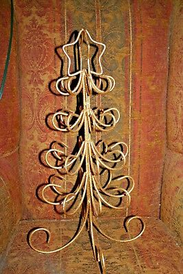 Metal scroll Christmas tree ornament stand (Scroll Ornament Stand)