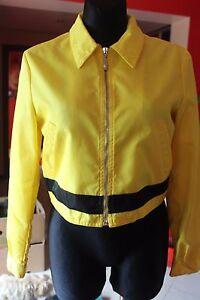 SALE!!!!!Vintage VERSUS Gianni VERSACE Yellow Rain Jacket Lion Face Sz. 26 40 - Lomza, Polska - SALE!!!!!Vintage VERSUS Gianni VERSACE Yellow Rain Jacket Lion Face Sz. 26 40 - Lomza, Polska