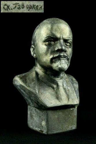 VLADIMIR LENIN Vintage Soviet Bust Sculptor Gevorkyan Revolution Communism USSR
