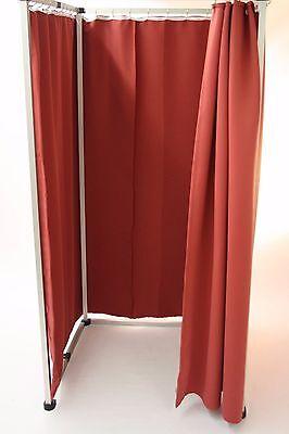 Neuheit mobile Umkleidekabine Zusammen klappbar mit sichtdichtem Vorhang