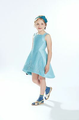 SALE! Girls ValMax Hi-Lo Damask Dress Size 5y