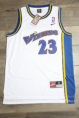 eaee9128b93e Michael Jordan  23 Washington Wizards White Swingman Basketball Vintage  Retro