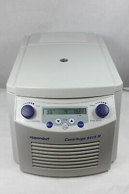 Eppendorf 5415r Refrigerated Centrifuge W Rotor Lid 6 Month Warranty