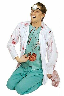 Halloweenkostüm blutiger Arzt Chirurg Horror Doc Arztkittel mit - Kittel Halloween Kostüm