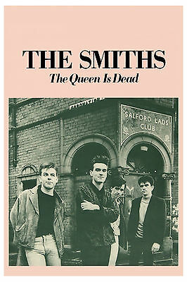 Brit Rock: The Smiths: * The Queen is Dead * Promotional Group Photo Poster 1986