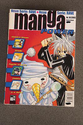 Manga Power - Ausgabe 16/2003