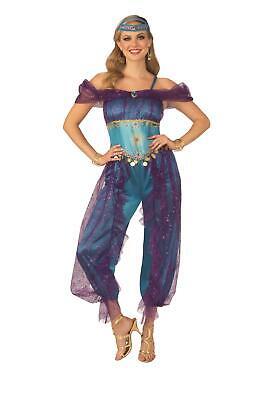 Adult Belly Dancer Costume (Blue Genie Belly Dancer Gypsy Adult Costume)