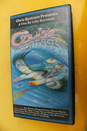 CRUISE CONTROL Chris Bystrom Australia Sorenson 1998 Rare NEW Surfing VHS Movie