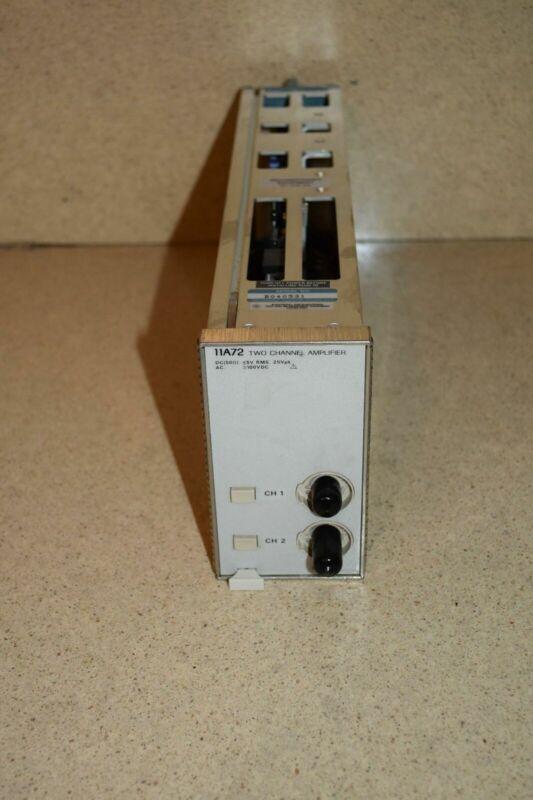 TEKTRONIX 11A72 TWO CHANNEL AMPLIFIER PLUG IN (TP1000)