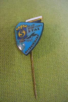 Anstecknadel - alte Vereinsnadel - Klub Sportowy Stal - 1947 - emailliert