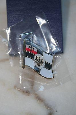 Pin Kriegsflagge Kaiserreich RKF Metall 182