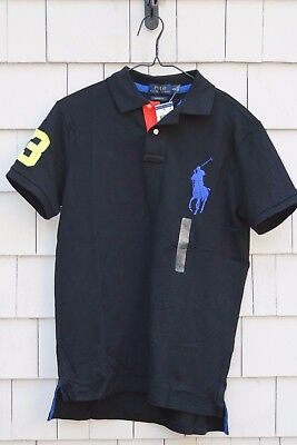 Polo Ralph Lauren Men's Big Pony Embroidered Polo/Rugby Shirt Size L
