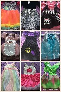 Girls's costumes and dresses $15 each