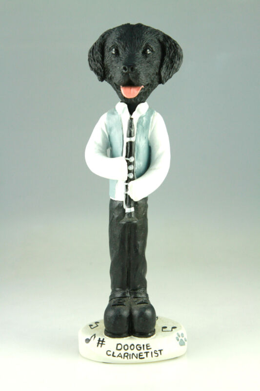 CLARINET FLAT COATED RETRIEVER INTERCHANGABLE BODY SEE BREED BODIES @ EBAY STORE