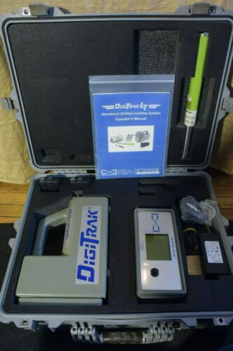 Digitrak Directional Drill Locator Set Model LT Locator Remote Charger LT Sonde