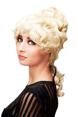 Quality Baroque Wig Colonial Tower Hairstyle Light Blonde L.COLONIAL.Lady-613
