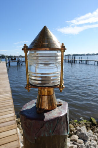 Key West Nautical Piling Dock Light  -Nautical marine dock light,nautical lights