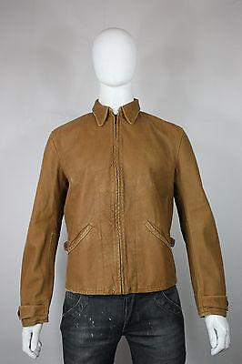 Levis LVC Menlo leather jacket M new vintage clothing brown 30's  bond skyfall