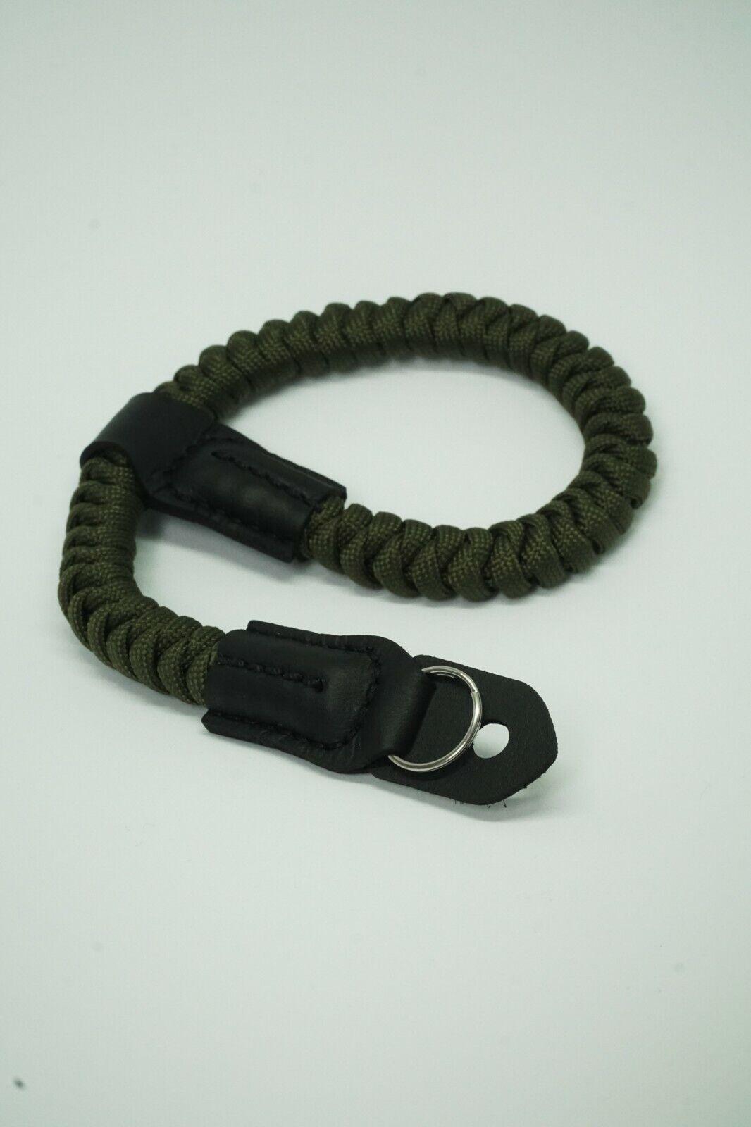 Paracord Wrist Camera Strap by NEVETdesigns | Climbing Rope DSLR Film Mirrorless