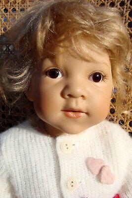 "Götz Puppe Amelie E. Lindner VINYL 24"" #483 Künstlerpuppe Sammlerpuppe Doll"