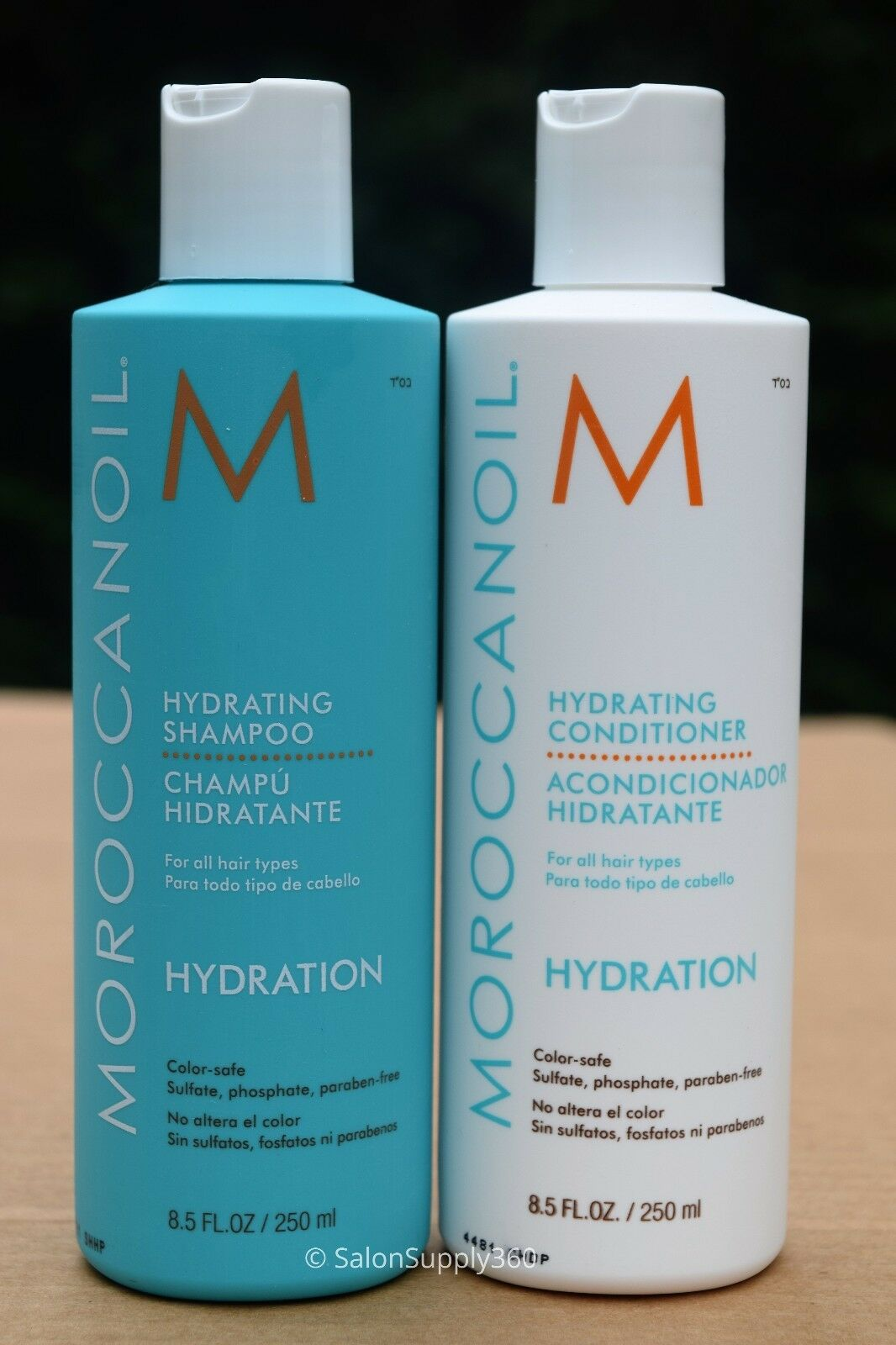 MOROCCANOIL Hydrating Shampoo and Conditioner Duo, 8.5 oz