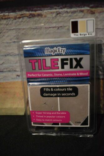 MagicEzy Tile REPAIRezy™ (Beige Kit) ~ Fix Cracks & Chips in Ceramic, Stone