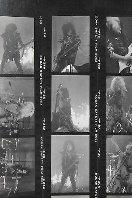 Motley Crue Shout At The Devil Looks That Kill Photographs Sixx Contact Sheets