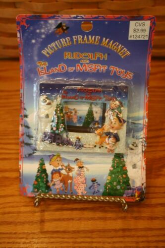 CVS RUDOLPH REINDEER PICTURE FRAME MAGNET 1999 DOLL SPOTTED ELEPHANT TRAIN