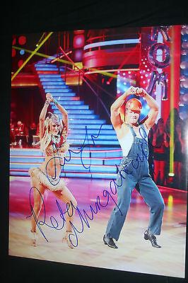 Sean Lowe   Peta Murgatroyd Signed 8 5X11 Photo Dc Coa  Dancing With The Stars