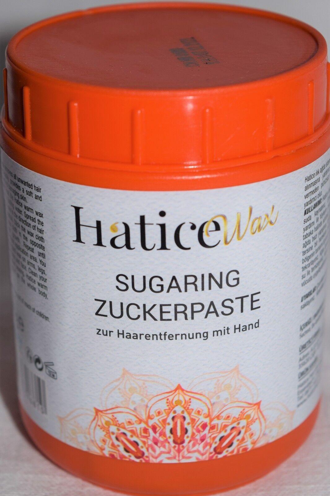 1750g SUGARING Enthaarung ZUCKERPASTE Sugar Waxing Sir Agda Warm-/Heisswachs Wax