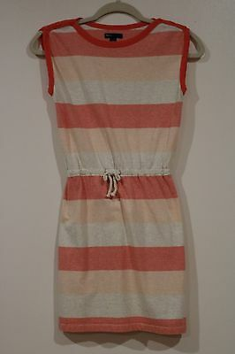 EUC Gap Kids Girls Back To School Cotton Orange Striped Dress Size 12](Kids Back To School Clothes)