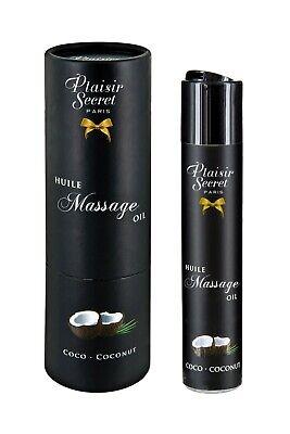 Aceite de masaje erótico comestible Coco 59 ml Plaisir Secret