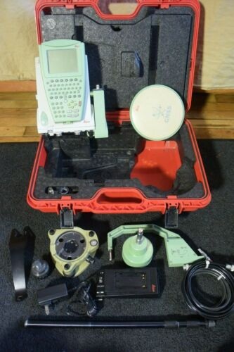 Leica GPS GX1230 GG GPS with AS10 and RX1210X Data Collector