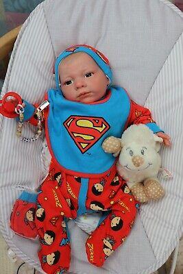 "REBORN BABY DOLLS UP TO 7lbs CHILD FRIENDLY 20"" GEORGE FLOPPY SUNBEAMBABIES GHSP"