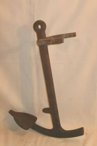 Vintage Boat Anchor Old Nautical Ship Maritime 18 lbs. 20""