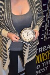 Vintage Westclox Big Ben Wind Up Loud Alarm Clock - WORKING !!