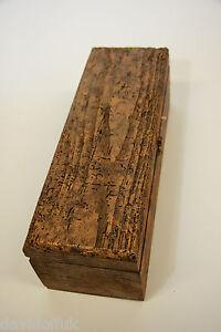 Scatola legno per vino Whiskey Alcolici, decorativo legno invecchiato 100 anni