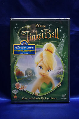 Walt Disney Tinker Bell (DVD, 2011, English & Spanish) Children Animation - Tinkerbell Movie
