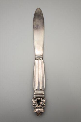 Georg Jensen Acorn Sterling Silver Solid Piece Letter Opener – Sterling Blade