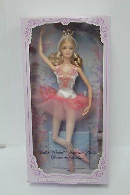 BALLET WISHES BARBIE COLLECTOR Ballerina Barbie DOLL - DGW35 NIB