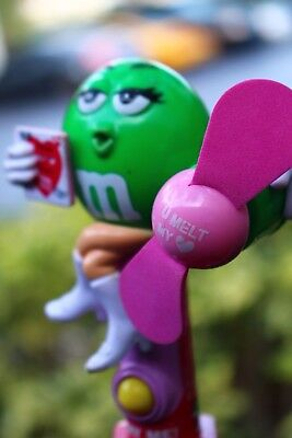 Vintage M&M Personal Fan & Candy Holder - Personalized M&m