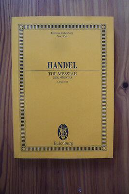 G.F.Händel. Der Messias - Studienpartitur-B-Ware