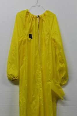 Frham Safety Products Bagsuit Fsbsyb-xl Bag Suit Coveralls Yellow Nylon Size Xl
