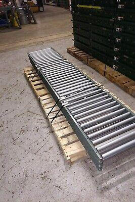 Hytrol Gravity Roller Conveyor 22 Overall Width - 1 38 Rollers 3 Centers